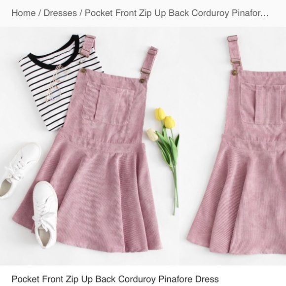 b8158637ebb Pocket front overall dress
